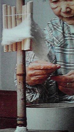 「生糸」と「真綿」
