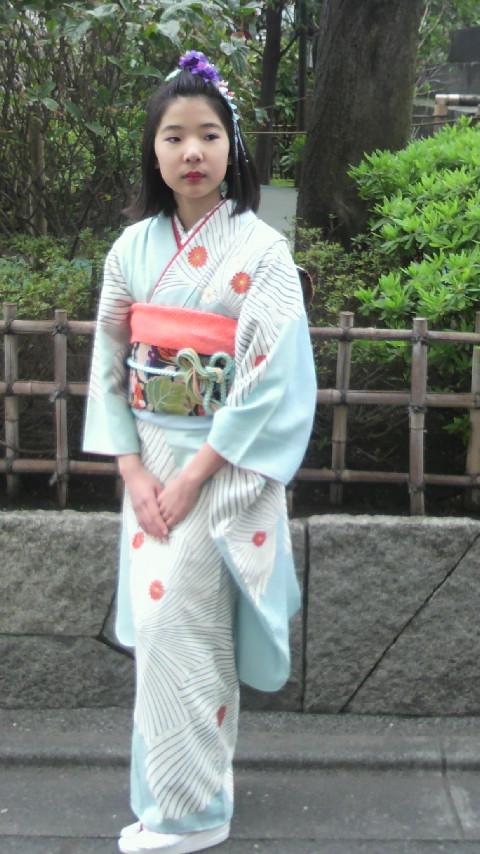 浅草寺、十三参りの巻き〜♪